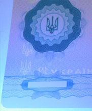 Диплом - свечение УФ (Харьков)